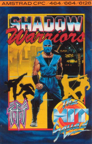 Caratula de Shadow Warriors para Amstrad CPC