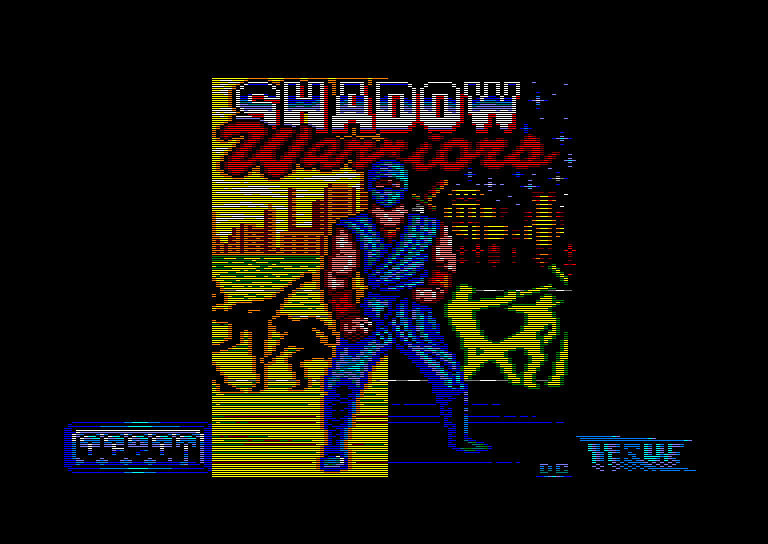 Pantallazo de Shadow Warriors para Amstrad CPC