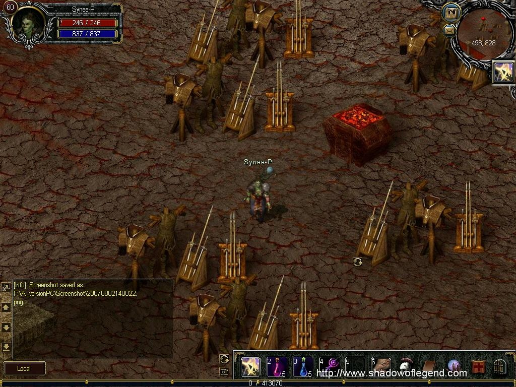 Pantallazo de Shadow of Legend para PC