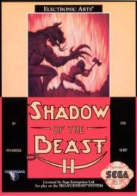Caratula de Shadow of the Beast II para Sega Megadrive