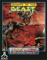 Caratula de Shadow of the Beast para Atari Lynx