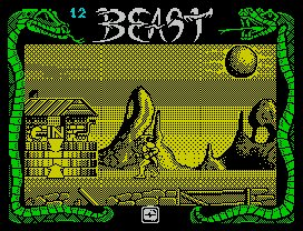 Pantallazo de Shadow of the Beast para Spectrum