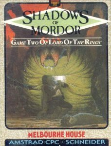 Caratula de Shadows Of Mordor, The para Amstrad CPC
