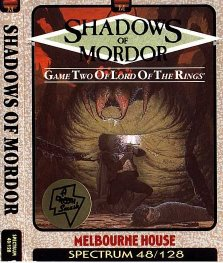 Caratula de Shadows of Mordor para Spectrum
