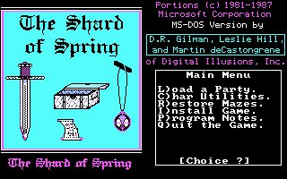 Pantallazo de Shard of Spring, The para PC
