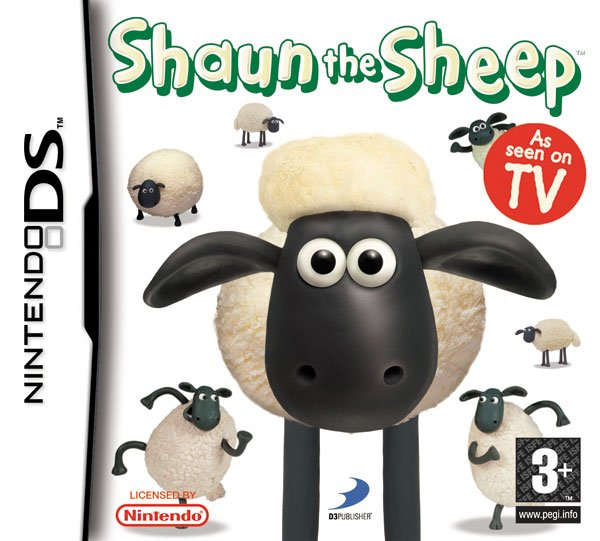 Caratula de Shaun the Sheep para Nintendo DS