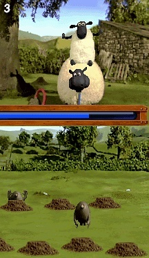 Pantallazo de Shaun the Sheep para Nintendo DS