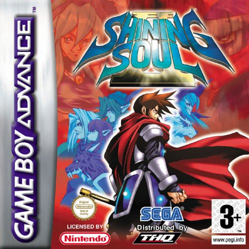 Caratula de Shining Soul II para Game Boy Advance