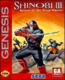 Carátula de Shinobi III: Return of the Ninja Master