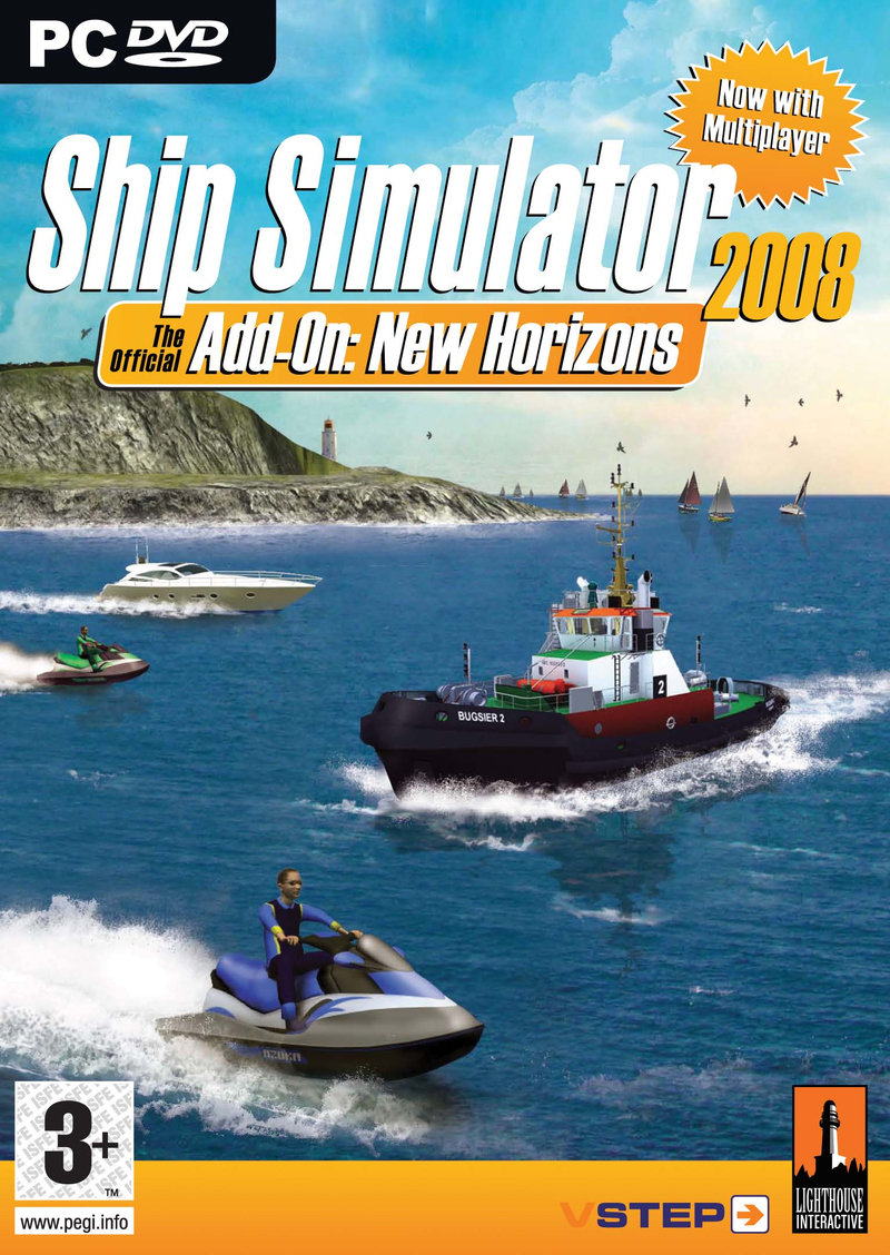 Caratula de Ship Simulator 2008 Add-On: New Horizons para PC