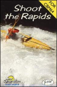Caratula de Shoot the Rapids para Commodore 64