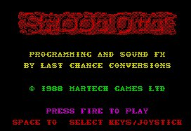 Pantallazo de Shoot-Out para Spectrum