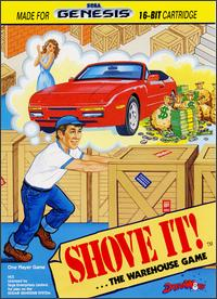 Caratula de Shove It! ...The Warehouse Game para Sega Megadrive