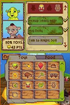 Pantallazo de Shrek: Ogres and Dronkeys para Nintendo DS