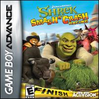 Caratula de Shrek: Smash n' Crash para Game Boy Advance