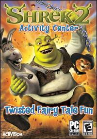 Caratula de Shrek 2: Activity Center para PC
