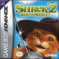 Caratula de Shrek 2: Beg for Mercy! para Game Boy Advance