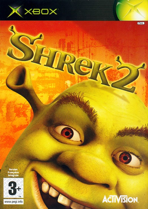 Caratula de Shrek 2: The Game para Xbox