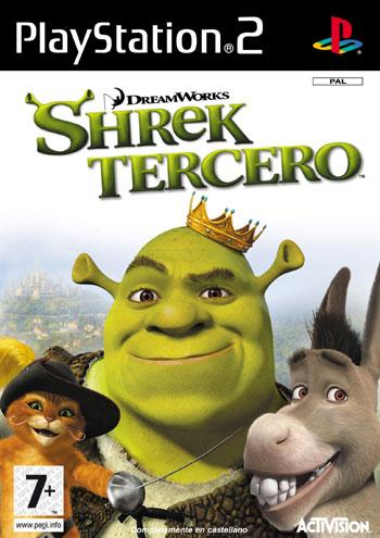 Caratula de Shrek the Third para PlayStation 2