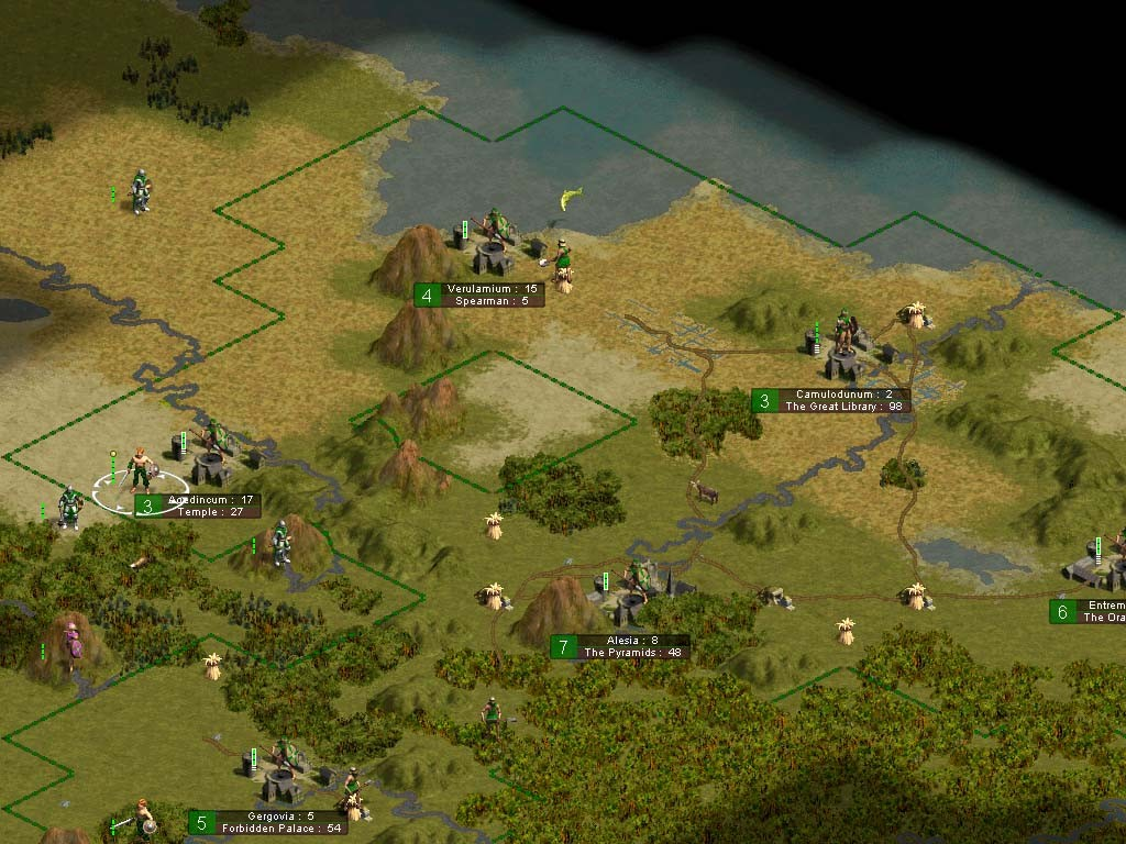 Pantallazo de Sid Meier's Civilization Chronicles para PC