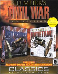 Caratula de Sid Meier's Civil War Collection Classics para PC