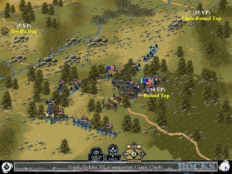 Pantallazo de Sid Meier's Civil War Collection para PC