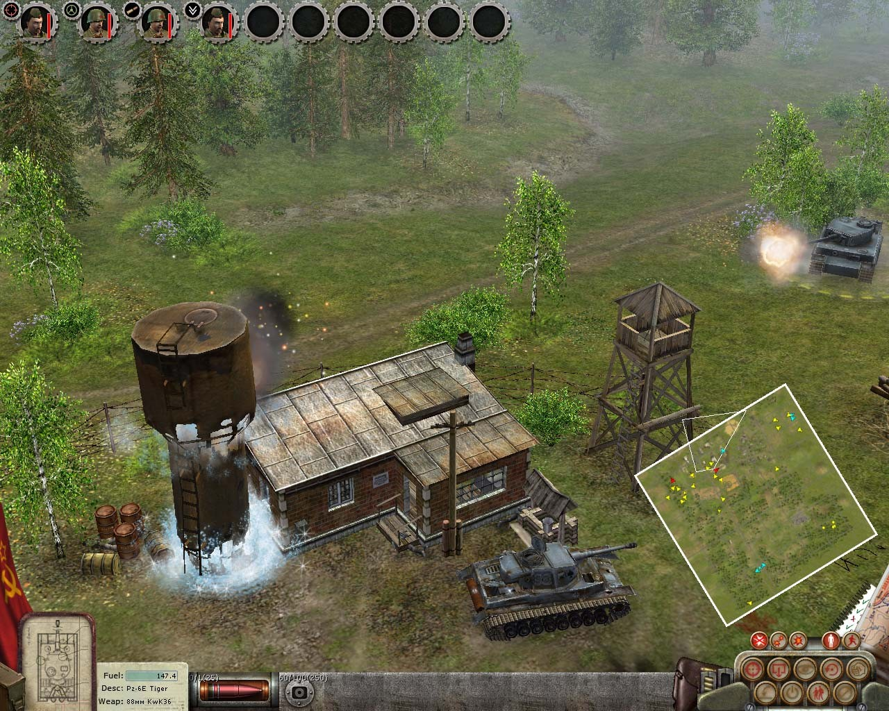 Pantallazo de Silent Heroes: Elite Troops of WWII para PC