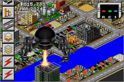 Pantallazo de SimCity 2000 para Game Boy Advance