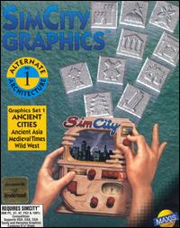 Caratula de SimCity Graphics Set 1: Ancient Cities para PC