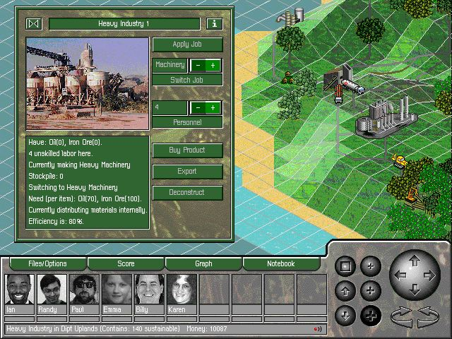 Pantallazo de SimIsle: Missions in the Rainforest para PC