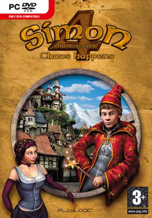 Caratula de Simon The Sorcerer 4 para PC