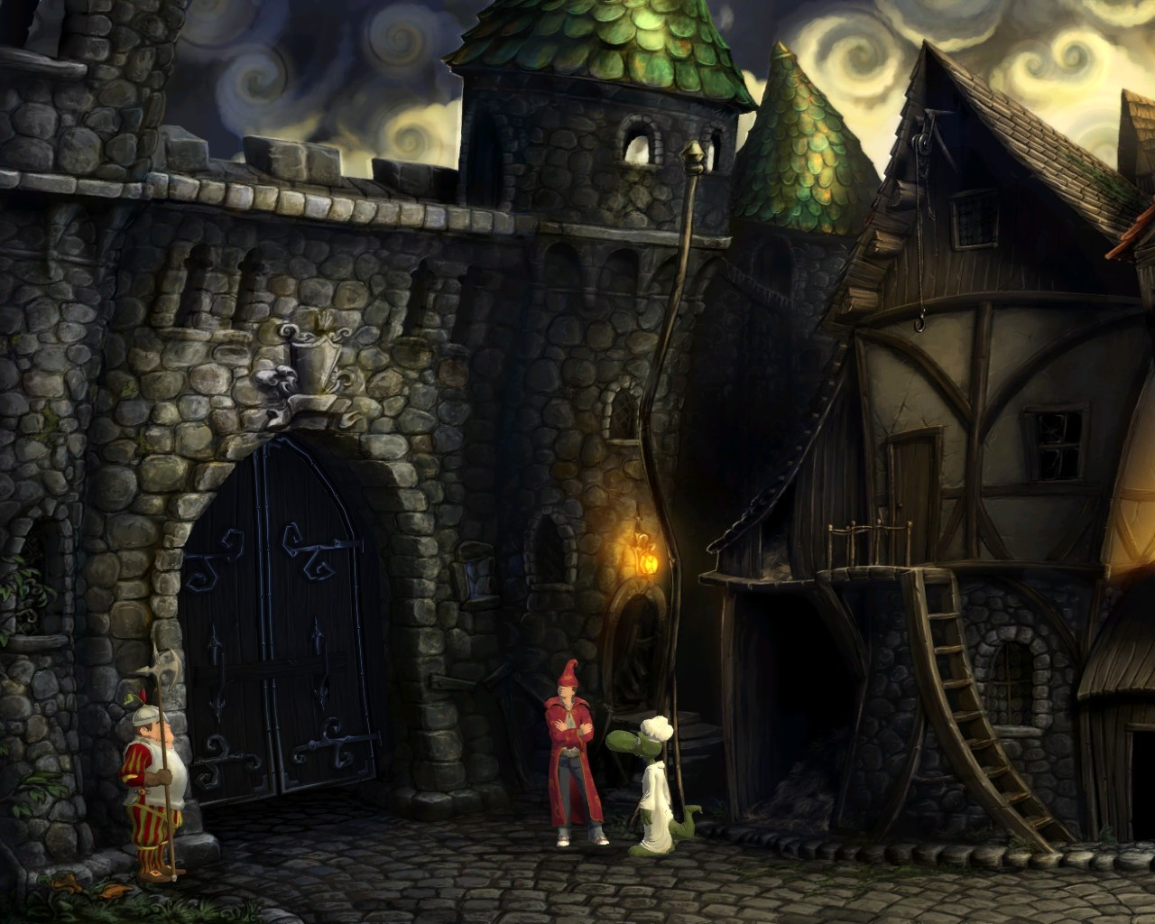 Pantallazo de Simon the Sorcerer 5 para PC