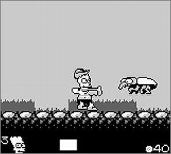 Pantallazo de Simpsons: Bart & The Beanstalk, The para Game Boy