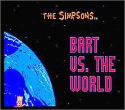 Pantallazo de Simpsons: Bart vs. The World, The para Nintendo (NES)