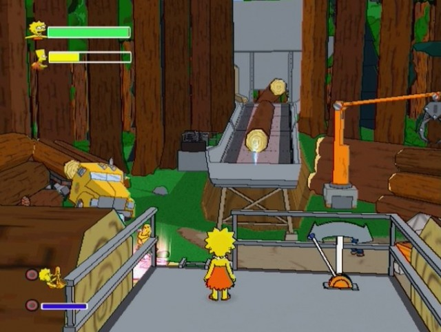 Pantallazo de Simpsons Game, The para PlayStation 2