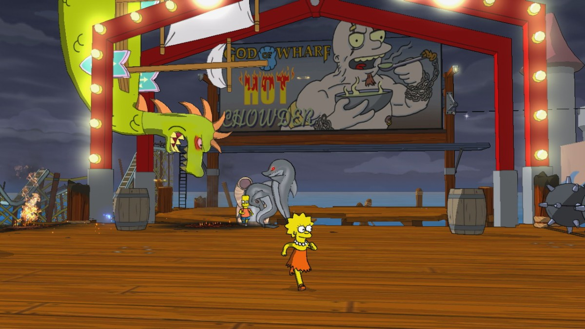 Pantallazo de Simpsons Game, The para Xbox 360