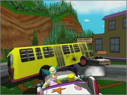 Pantallazo de Simpsons Road Rage, The para GameCube