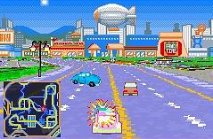 Pantallazo de Simpsons Road Rage, The para Game Boy Advance
