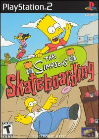 Caratula de Simpsons Skateboarding, The para PlayStation 2