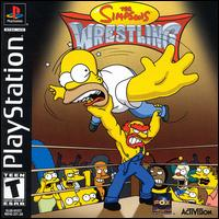 Caratula de Simpsons Wrestling, The para PlayStation