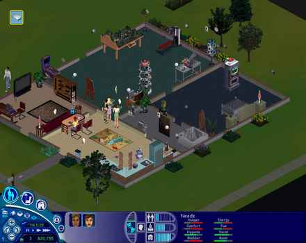 Pantallazo de Sims: House Party Expansion Pack [2002], The para PC