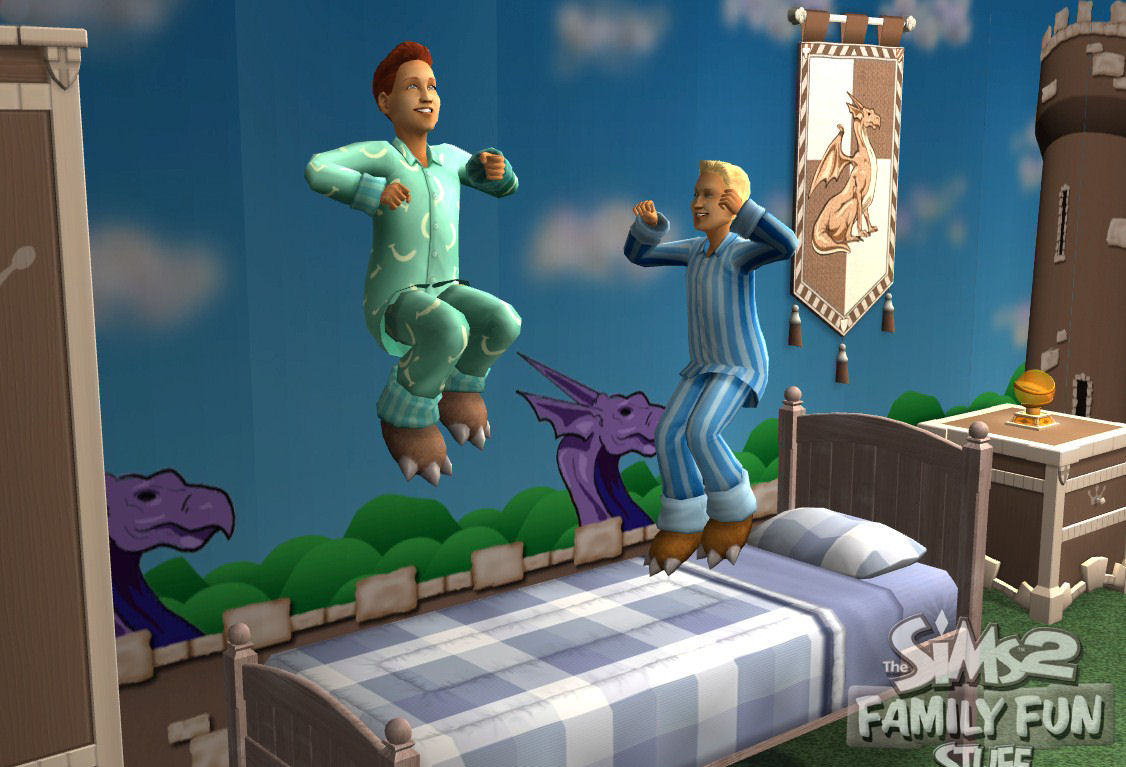 Pantallazo de Sims 2: Family Fun Stuff, The para PC