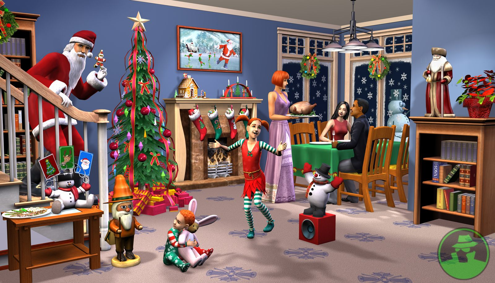 Sims 3 Christmas Holiday CC - FREE Downloads