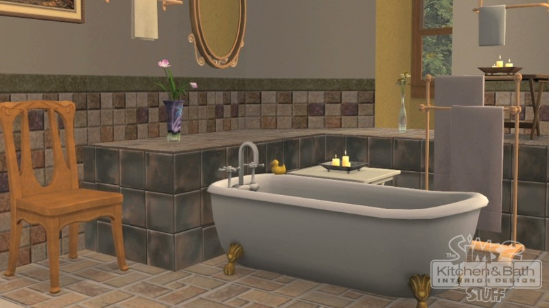 Pantallazo de Sims 2: Kitchen & Bath Interior Design Stuff, The para PC