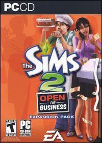 Caratula de Sims 2: Open for Business, The para PC
