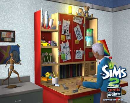 Pantallazo de Sims 2: Open for Business, The para PC