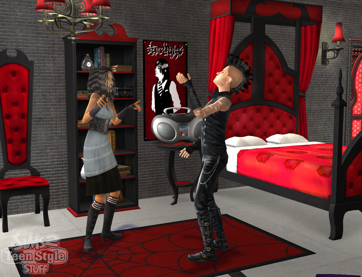 Pantallazo de Sims 2: Teen Style Stuff, The para PC