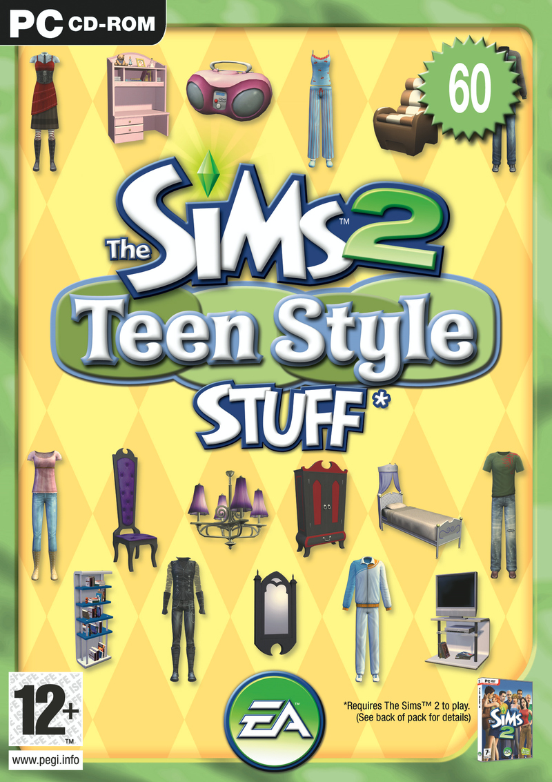 Caratula de Sims 2: Teen Style Stuff, The para PC