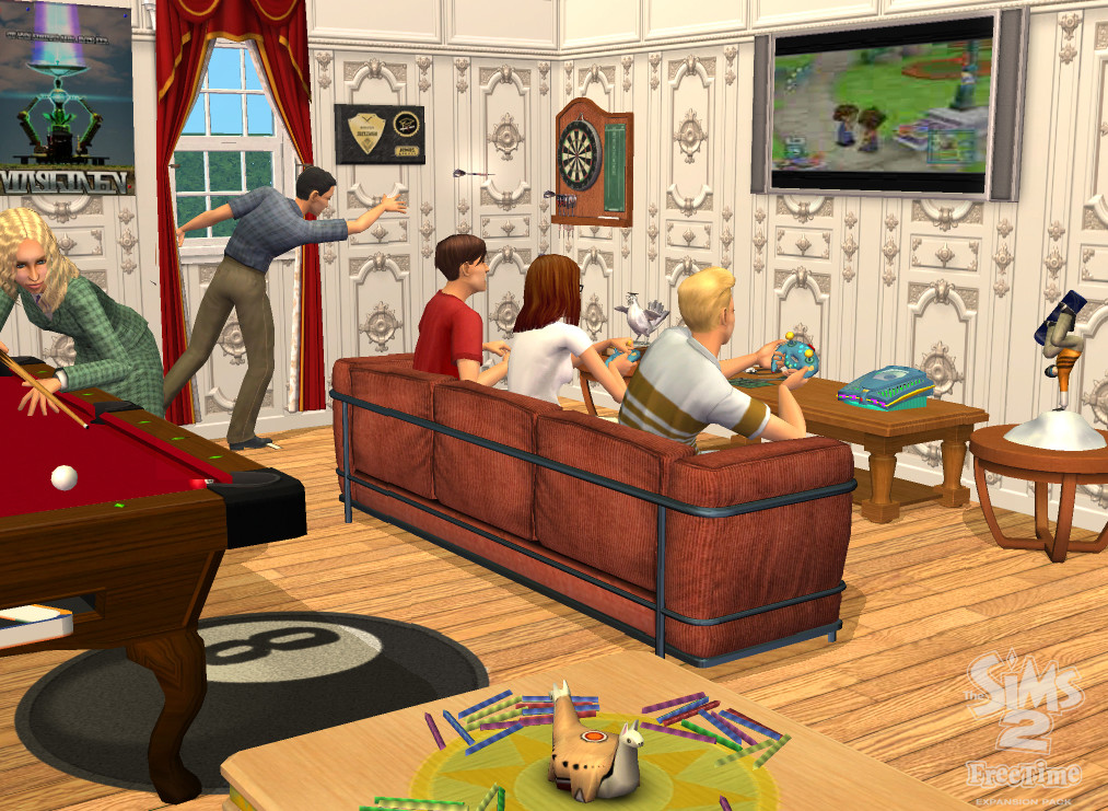 Pantallazo de Sims 2 : Free Time, The para PC