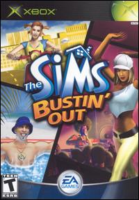 Caratula de Sims Bustin' Out, The para Xbox